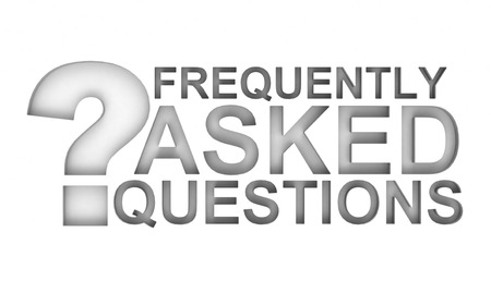 frequently asked questions: FAQ Stock Photo