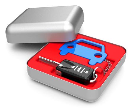 keyholder: The car key