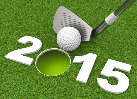 success in 2015 Foto de archivo