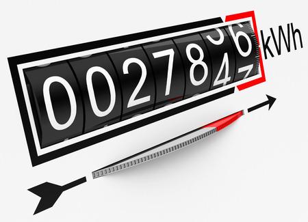 contador electrico: el medidor de electricidad