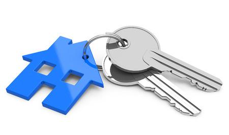 the house keys Stock Photo