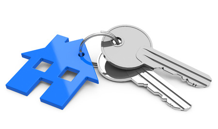 the house keys Stok Fotoğraf