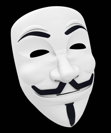 anonymus: the mask Stock Photo