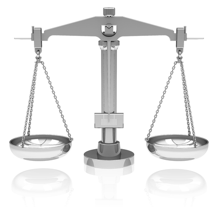 balance scale: la escala