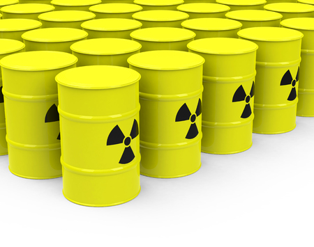 the nuclear waste Stock Photo - 27647851