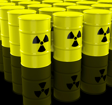 the nuclear waste Stock Photo - 27647859