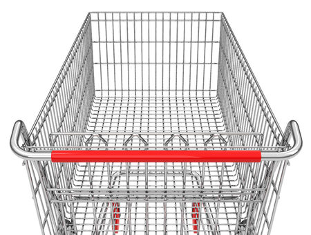 carretilla de mano: la cesta de la compra