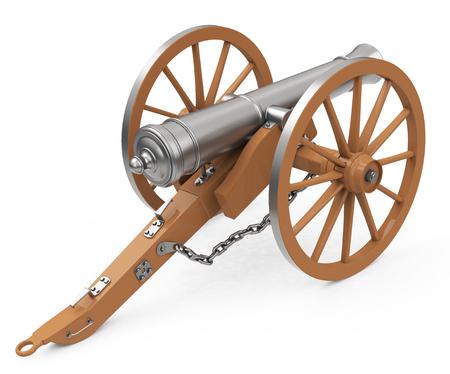 bombard: the cannon Stock Photo