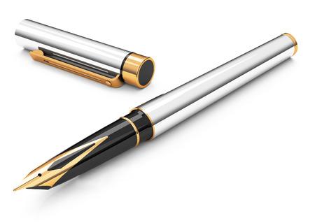 fountain pen: the fountain pen