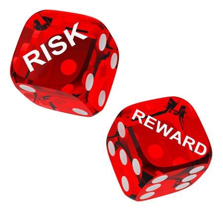 risk and reward dices photo