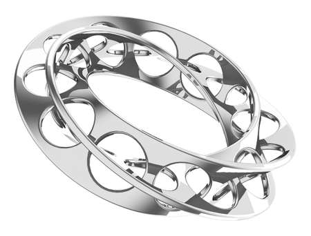 endless metal ring Stock Photo - 28753756