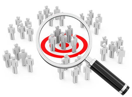 Markt- und Kundenanalyse Standard-Bild - 29356562