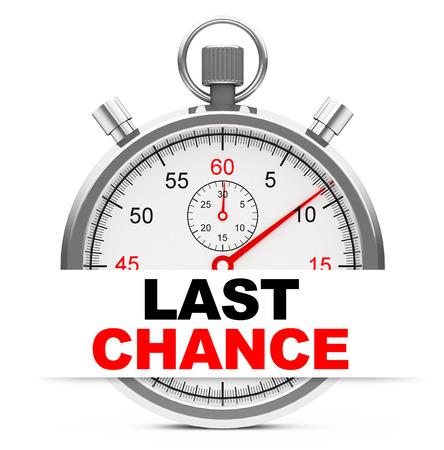 finals: last chance
