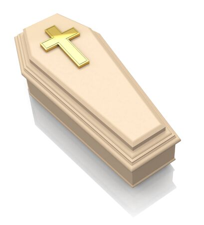 the casket Stock Photo