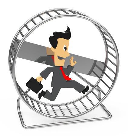 going nowhere: the hamster wheel