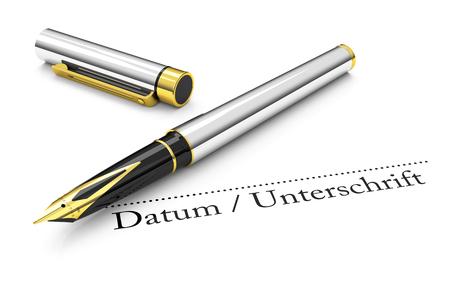 underwrite: The fountain pen