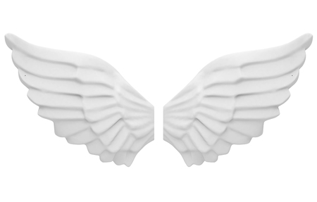 the angel wings Stock Photo