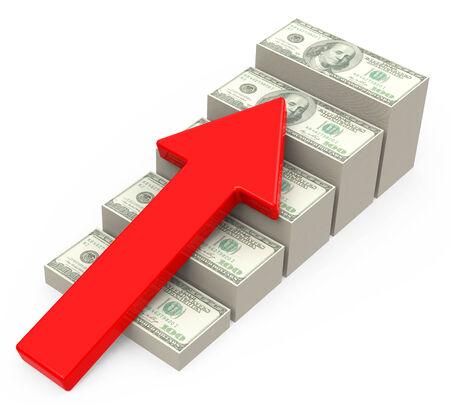 the income growth Фото со стока