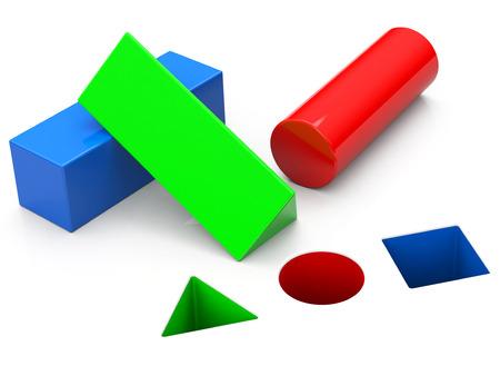 basic geometry Фото со стока