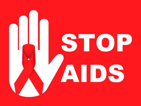 stop aids Фото со стока