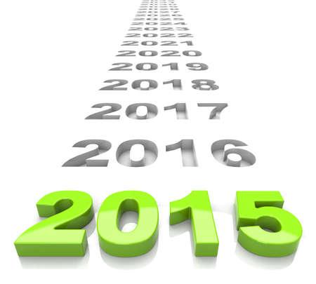 year 2015 Фото со стока