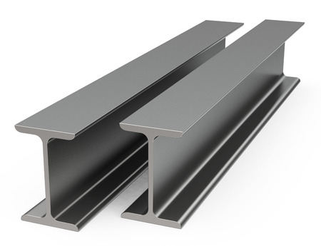 steel structure: The metal beams