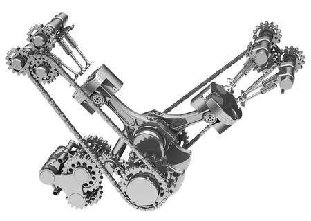 the engine Фото со стока