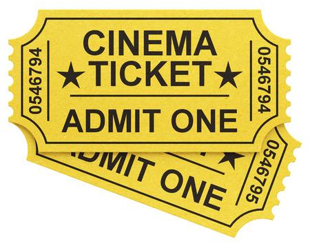 the cinema tickets Фото со стока