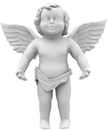the white angel Фото со стока