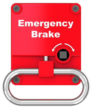 The emergency brake
