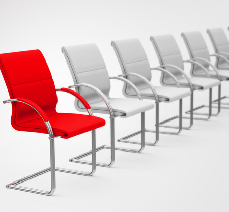 the red chair Фото со стока