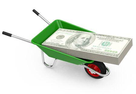 The money wheelbarrow