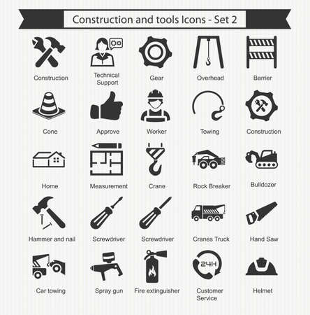 scaffold: Construction and tools Icons