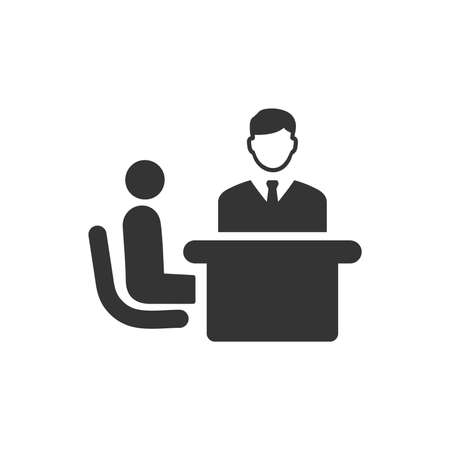 Business Discussion Icon