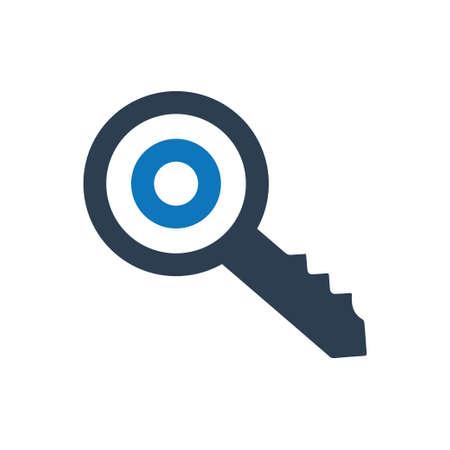 Beautiful, Meticulously Designed Keyword Targeting Icon Çizim