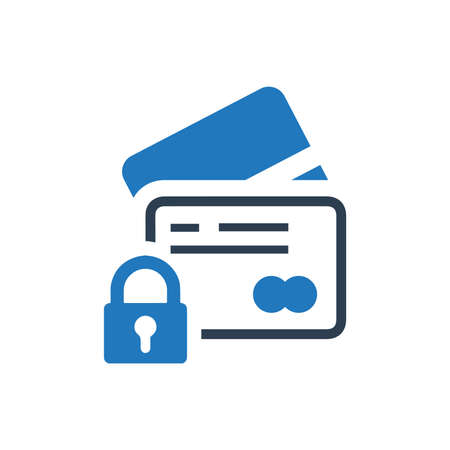 Secure Payment Card Icon