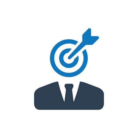 Business Target Icon Çizim
