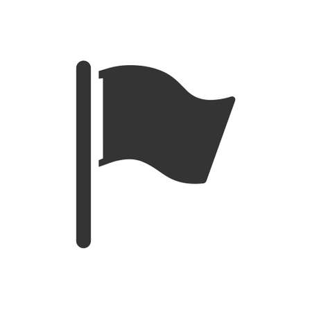 Beautiful, Meticulously Designed  Flag, Finishing Flag Icon