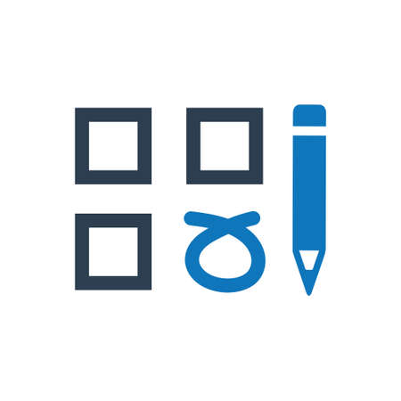 Beautiful, Meticulously Designed Checklist, Questionnaire Icon Reklamní fotografie - 104832867