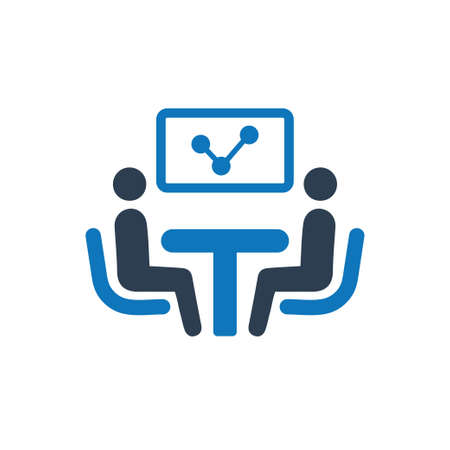 Discuss Business Report Icon