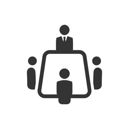 Beautiful, Meticulously Designed Business Meeting Icon