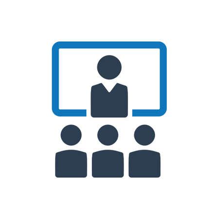 Beautiful, Meticulously Designed Business Presentation Icon Ilustração