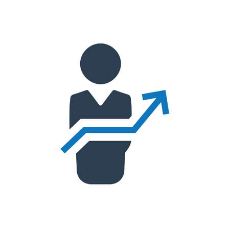 Beautiful, Meticulously Designed Business Growth Icon