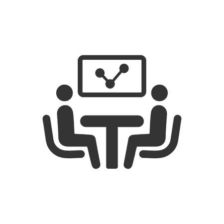 Beautiful, Meticulously Designed  Discuss Business Report Icon