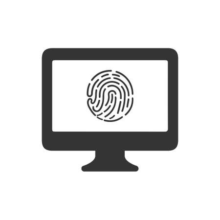 Beautiful, Meticulously Designed  Fingerprint Protection Icon