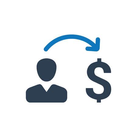 Money Sending Icon Çizim