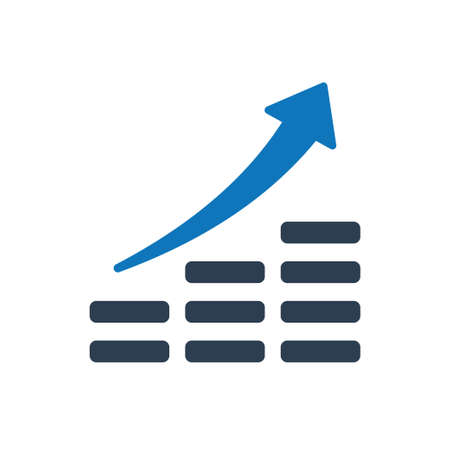 Beautiful, Meticulously Designed Financial Growth Icon