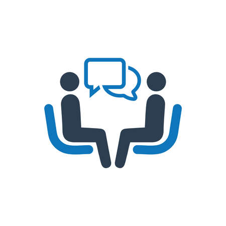 Business Conversation Icon