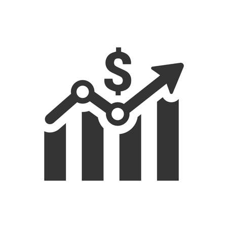 Business Growth Icon Иллюстрация