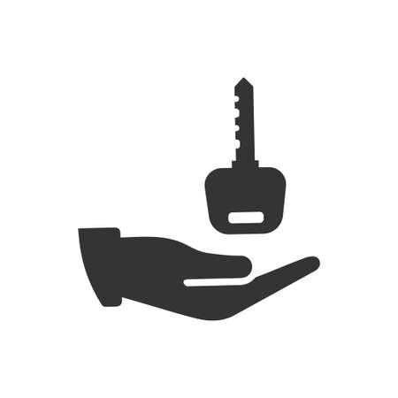 Beautiful, Meticulously Designed Key to Success Icon